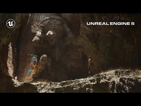 Unreal Engine 5 Revealed!   Next-Gen Real-Time Demo Running on PlayStation 5