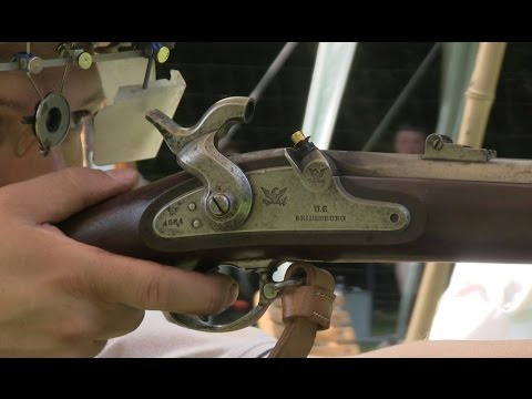 Shooting the original Springfield rifle musket