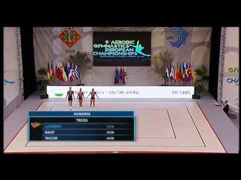 2015 Aerobic European Championships, Elvas (POR) - Senior Finals
