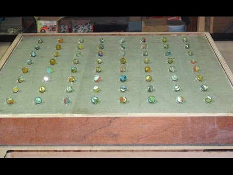 Vacuum Table with Marbles