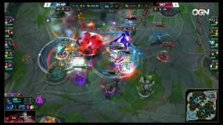SKT Bang with the insane QSS reaction