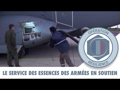 RÉSILIENCE : le dépôt des essences Air en soutien de l'opération Résilience