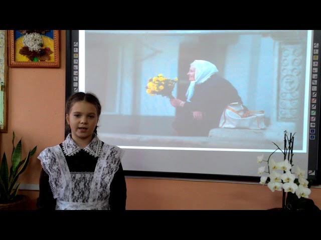 Изображение предпросмотра прочтения – СофияКучерявых читает произведение «Голод души» М.И.Фёдоровой-Шалауровой