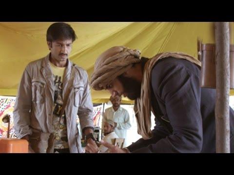 Sahasam Scene - Gowtam Locket Showing To Archaeologist - Full HD