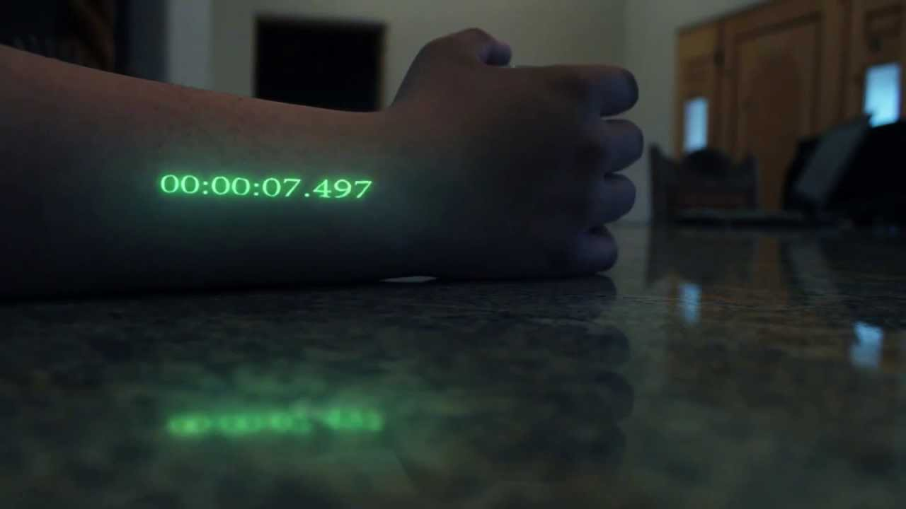 In-Time Effect, Arm clock - YouTube