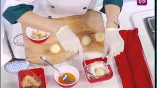 ديما حجاوي تحضر كرات البطاطا المحشوة بالجبن