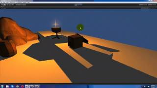 Unity3D - Creating Realtime Shadow Effect using SpotLight and Point Light