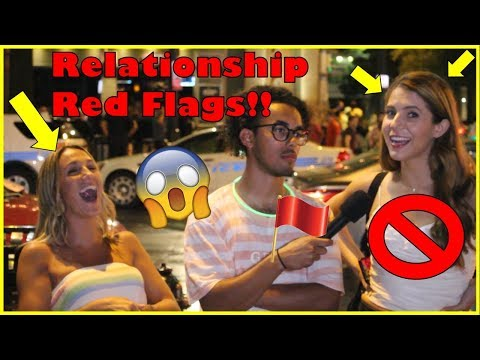 Relationship Red Flags | Public Interview | Charlotte, NC