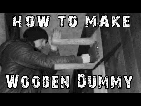 How to make Wooden Dummy