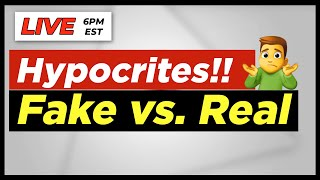 Hypocrites! Fake vs. Real | Acts 2and42 Podcast