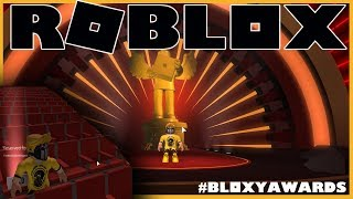 ROBLOX 5TH ANNUAL BLOXY AWARDS - France I SAT AT ASIMO3089'S TABLE (fr) CRÉATEUR DE JAILBREAK