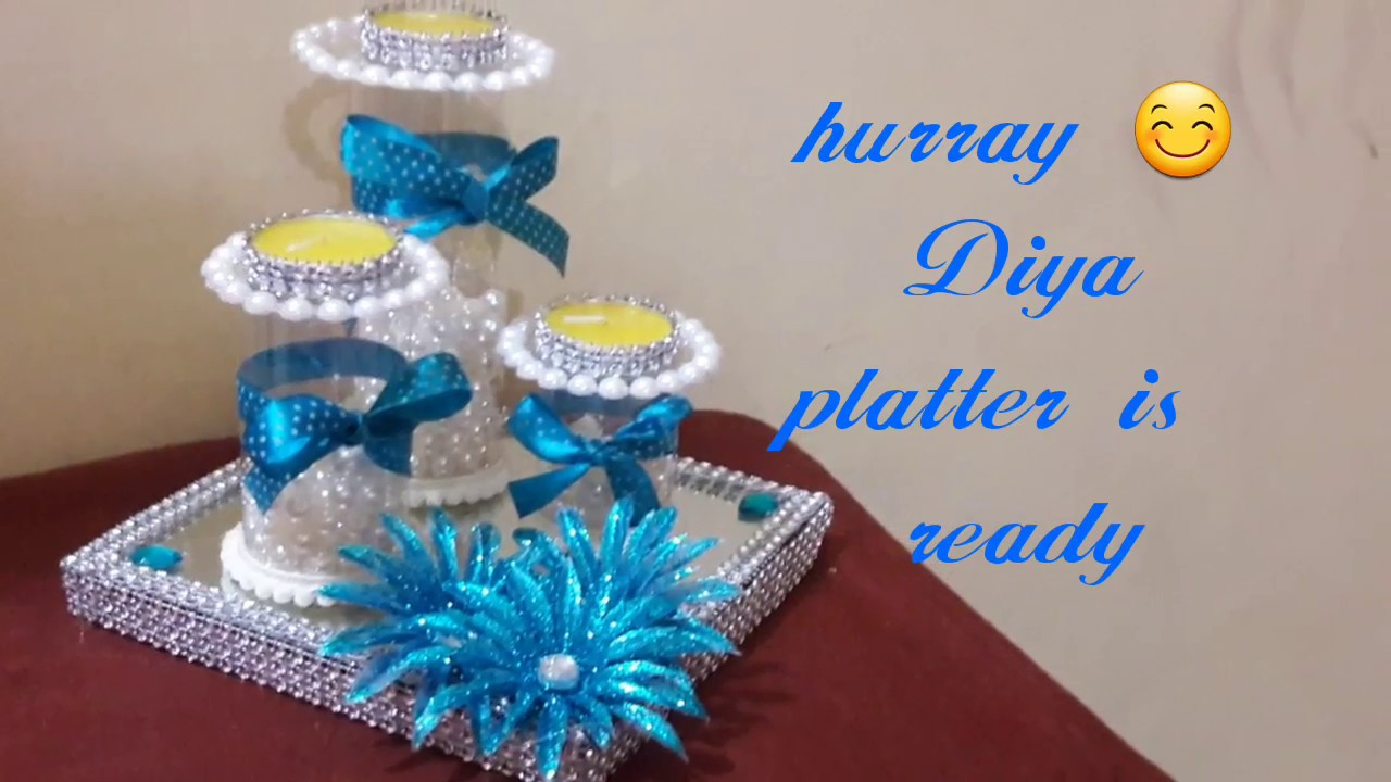 Diy christmas christmas home decoration ideas latest for Diya decoration youtube