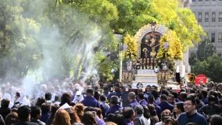 PROCECION DEL SR. DE LOS MILAGROS EN PATERSON NEW JERSEY OCTOBER 2013