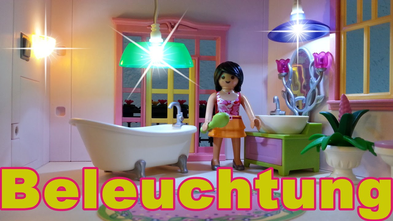 beleuchtung f r das romantische puppenhaus von playmobil seratus1 youtube. Black Bedroom Furniture Sets. Home Design Ideas