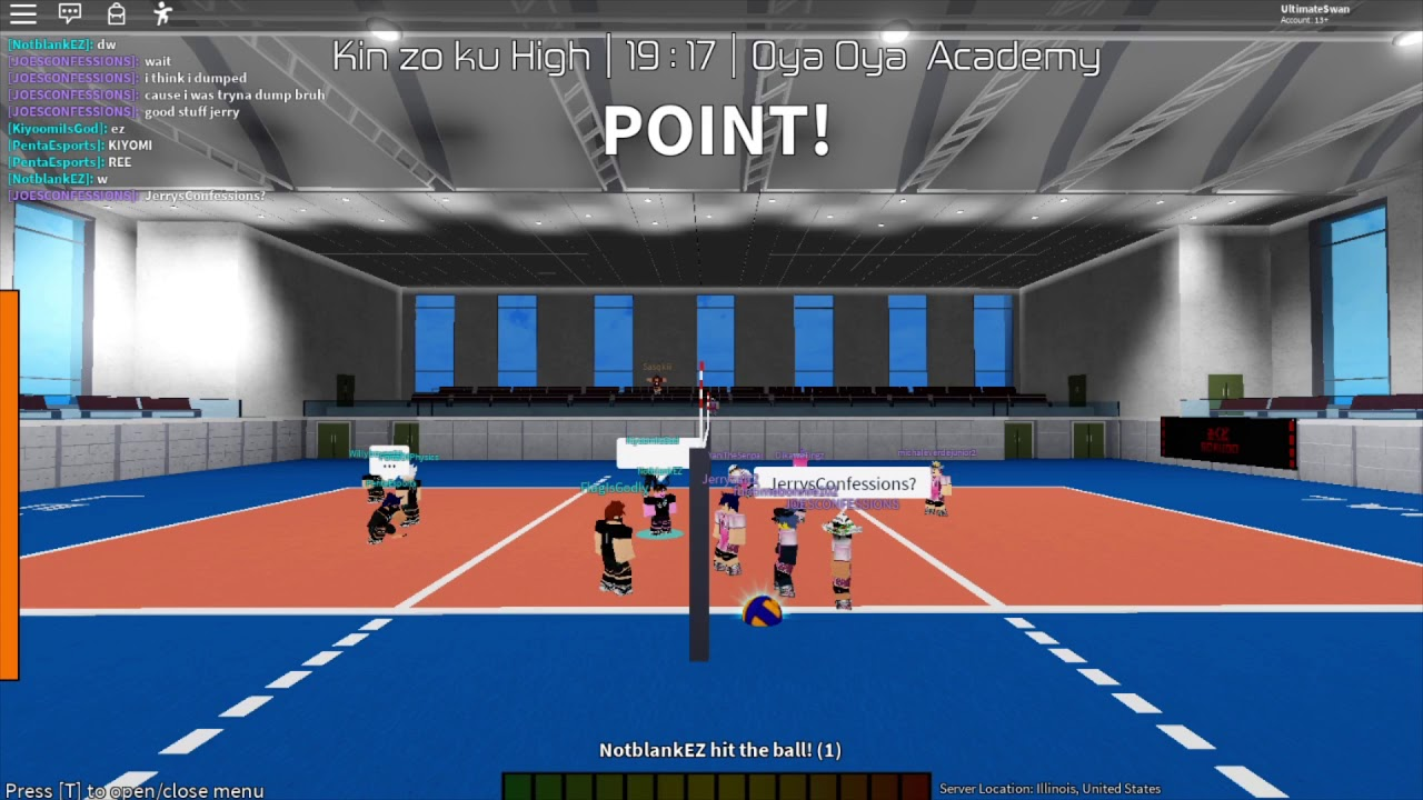 New Animation Pack Volleyball Academy Roblox Youtube