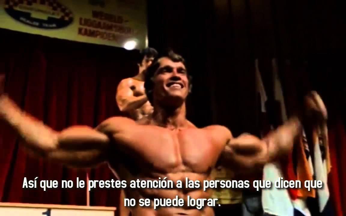 Arnold Schwarzenegger Quién quieres ser - MOTIVACIÓN GYM - YouTube