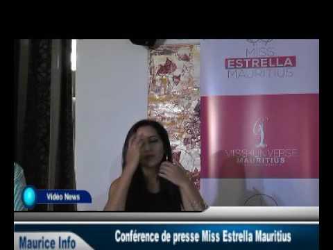 Conférence de presse Miss Estrella Mauritius - Part 3