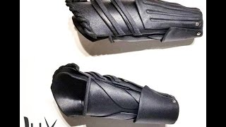 Making-of - Saber's bracers