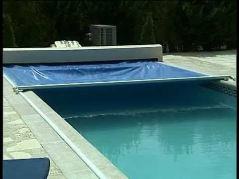 Cubiertas autom ticas para piscinas youtube for Cubiertas de lona para piscinas