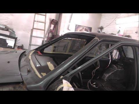 Как снять декорацию водоотвода крыши автомобиля ВАЗ 2108 .