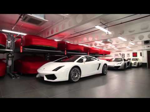 Paul Bailey's Super Car Dream Garage - Double Space Car Lifts