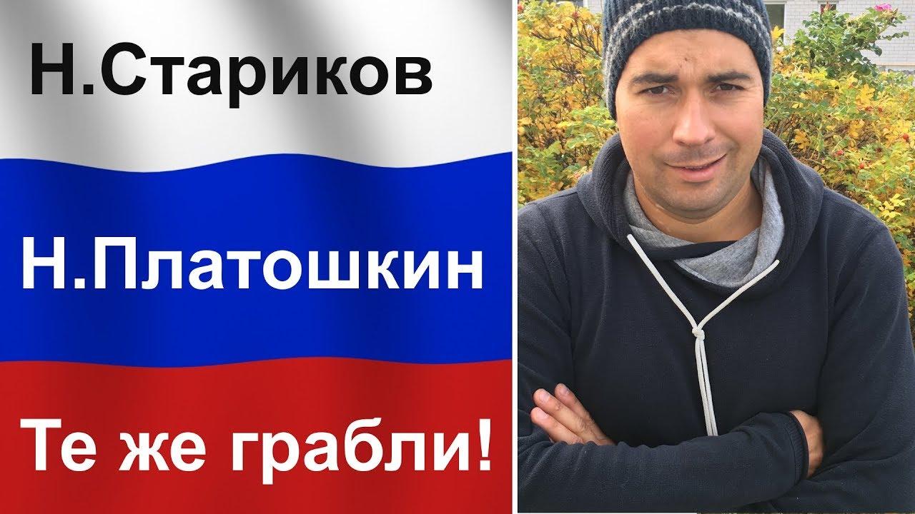 Платошкин = Стариков: Как дурачат людей в России