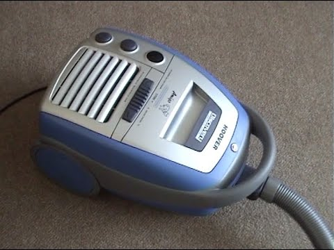 Hoover Discovery Amigo Bagged Vacuum Cleaner Demonstration