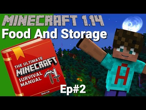 Minecraft Survival Manual: How to Play Minecraft 1.14   Gathering Resources with Avomance & Frilioth