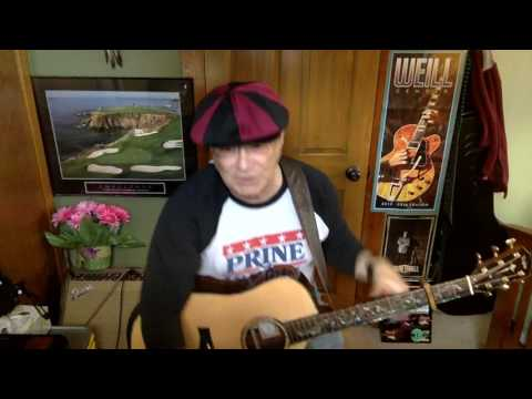 2180 -  Crazy Little Thing Called Love -  Dwight Yoakam cover -  Vocal & acoustic guitar & chords