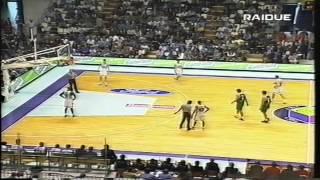 1999 G5 Teamsystem Fortitudo Bologna vs Benetton Treviso (2nd half)