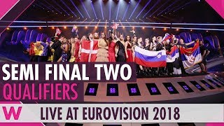 Eurovision 2018: Semi-Final 2 Qualifiers (Reaction)