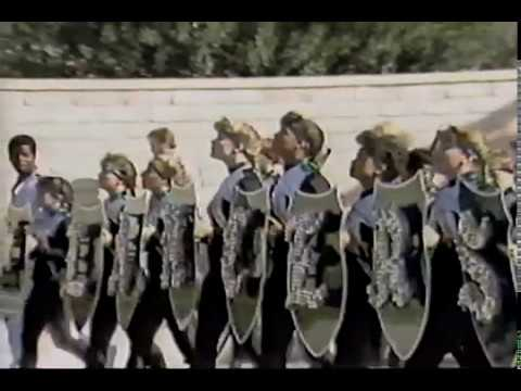 1990 Thousand Oaks High School Lancer Band and Colorguard Highlights Video