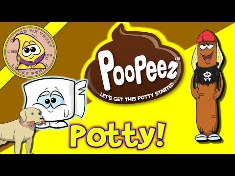 Poopeez From KerPLOPolis - Toilet Paper Surprise, Exploding Toilet Toys Review - Unboxing!