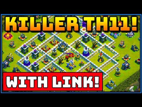 KILLER TH11 WAR BASE! *With Link* Town Hall 11 Clash of