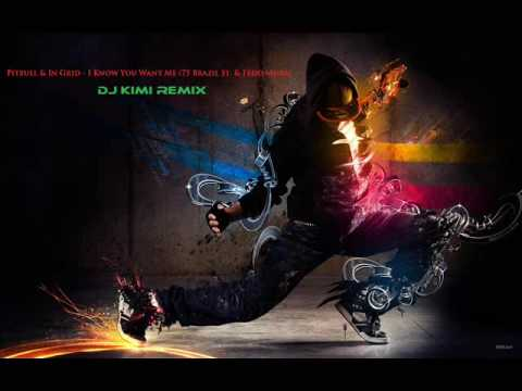 DJ Kimi Feat. Pitbull & In Grid - I Know You Want Me (75 Brazil St & Fedo Mora) [OFFICIAL MIX]