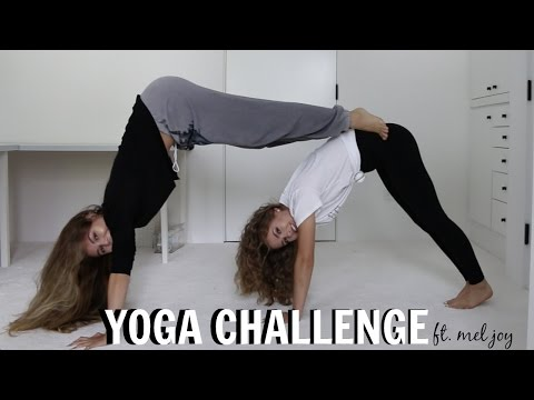 YOGA CHALLENGE FT.  MEL JOY