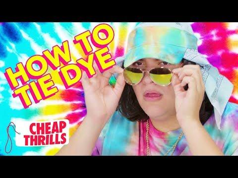 D.I.Y. Tie-Dye | Cheap Thrills