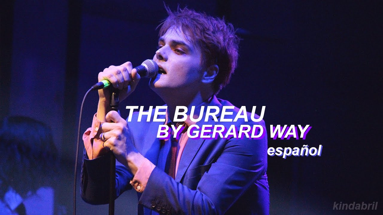Gerard way the bureau español youtube