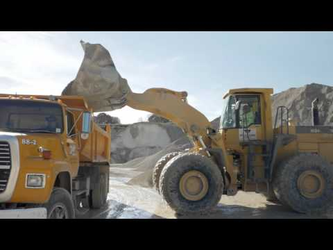 Asphalt Paving and Construction Aggregates – Mathy Construction