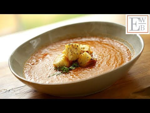 Beth's Vegan Roasted Tomato and Eggplant Soup Recipe   ENTERTAINING WITH BETH