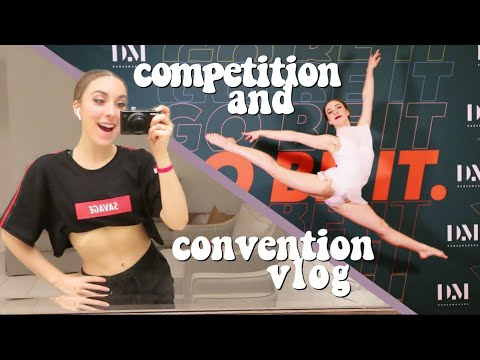 FIRST DANCE COMPETITION OF THE SEASON! (Dance Makers 2019 Competition and Convention Vlog)