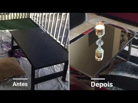 DIY Como fazer uma mesa de centro espelhada