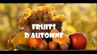 🍎Apprendre et découvrir les fruits d'automne | Fruits de saison