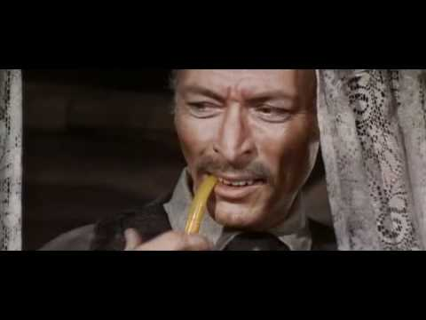 For a Few Dollars More Lee Van Cleef as Colonel Douglas Mortimer Binoculars Scene