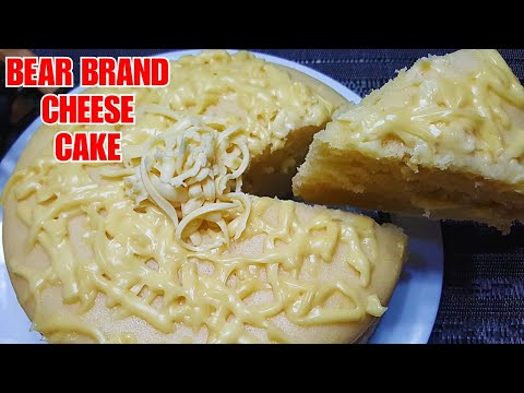 No Bake BEAR BRAND CHEESE CAKE 💓 | How To Make Bear Brand Cheese Cake Without Oven