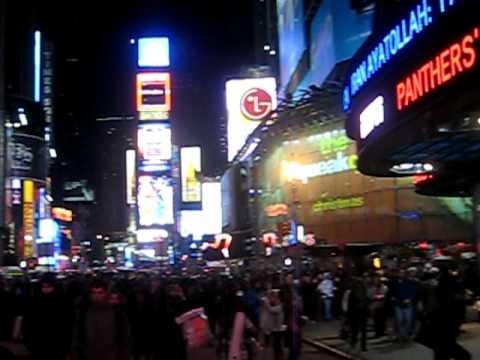JC en Times Square.avi