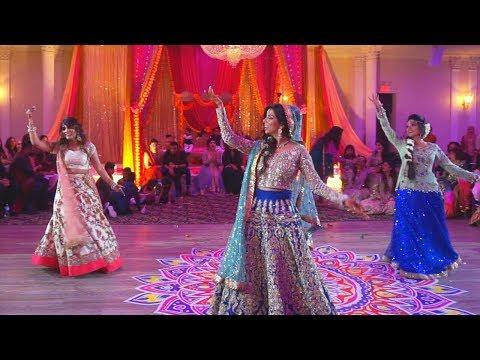 Bride's Surprise Wedding Dance  Aayat   Deewani Mastani   Tujh Mein Rab Dikhta Hai