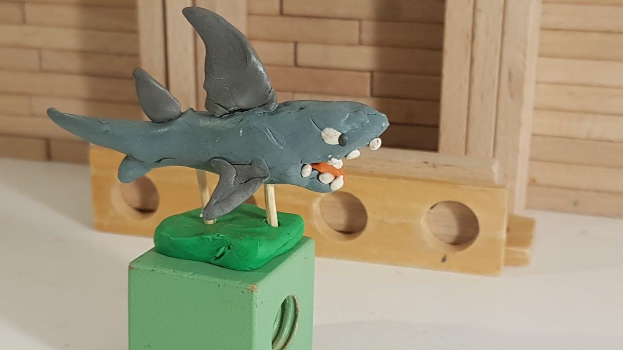 французской деревне как слепить акулу из пластилина фото команду