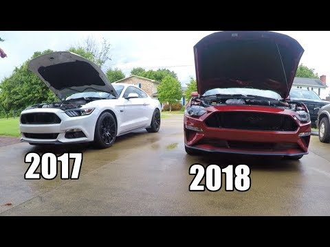 2017 Vs 2018 Mustang >> Differences In The 2017 Vs 2018 Mustang 5 0 Really That Different