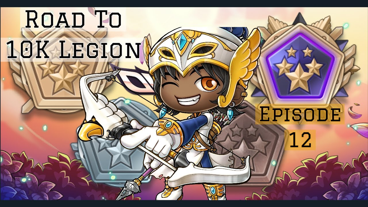MapleStory Reboot: Road To 10K Legion: Astral Event | How Fast Can I Level?! | 3638 / 10K | (Ep 12.)